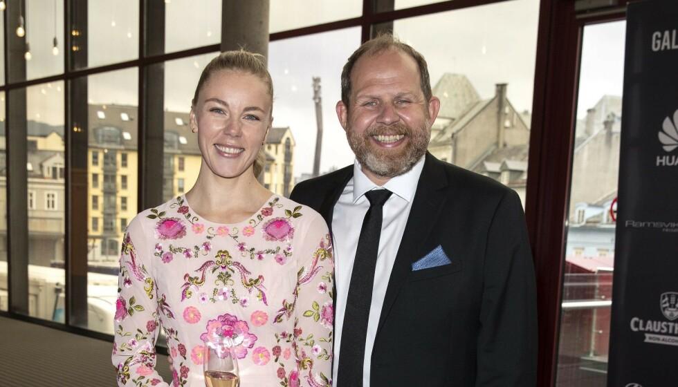 <strong>NUMMER TO:</strong> I juni bekreftet Truls Svendsen og Charlotte Smith at de venter sitt andre barn. Nå røper de kjønnet på babyen. Foto: Andreas Fadum / Se og Hør