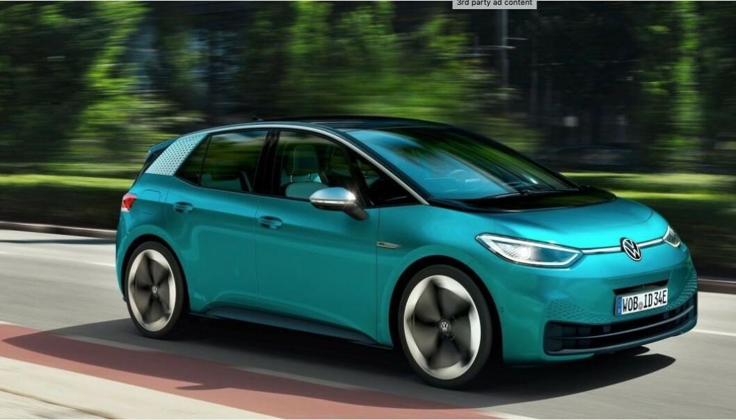 <strong>RYDDER PLASS:</strong> Uten vanlig motor, girkasse, bensintank og eksosanlegg, blir det mye plass innvendig. Foto: VW