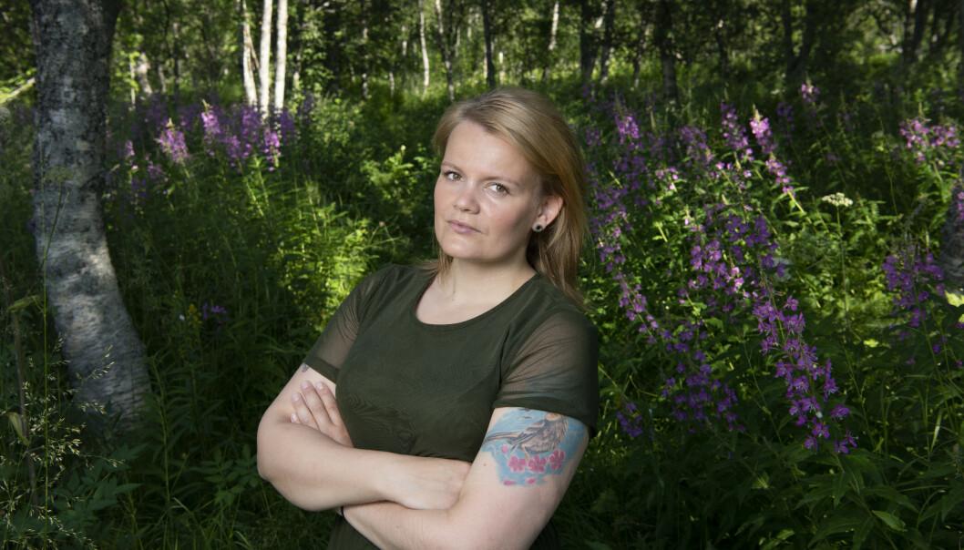 <strong>MEDISINFRI:</strong> Annika Alexandersen måtte ty til ekstra hjelp for å klare å slutte.