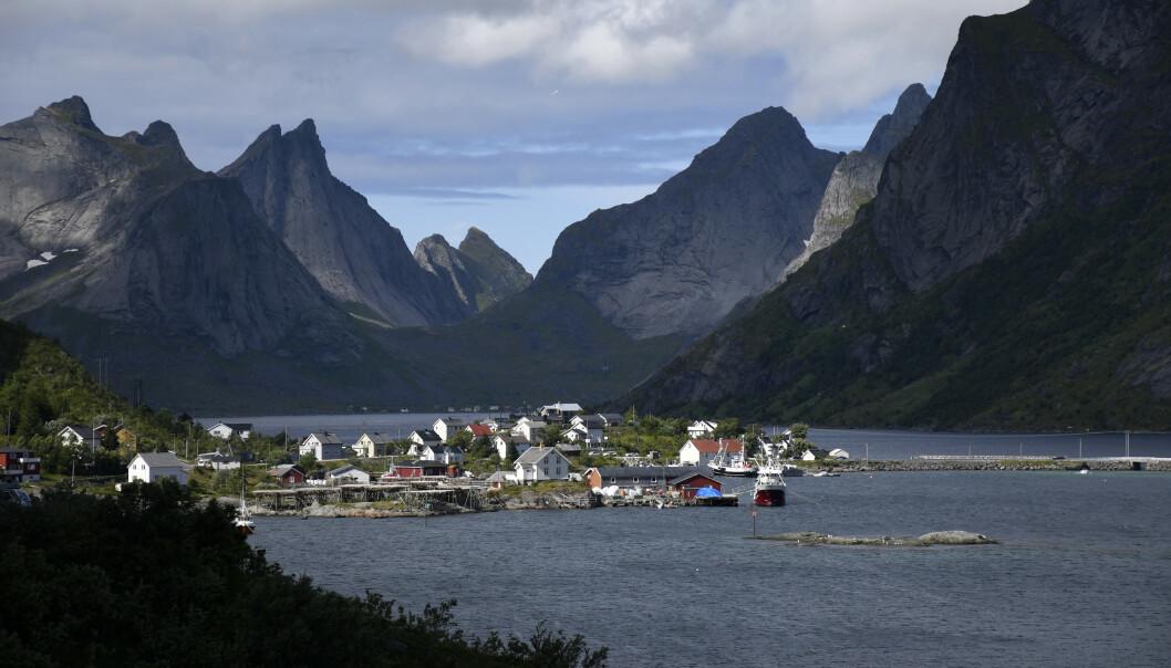 <strong>MANGE SMÅBEDRIFTER:</strong> Reine og Kjerkfjorden i Lofoten har hatt mange norske turister på besøk i sommer. Foto: Rune Stoltz Bertinussen / NTB scanpix