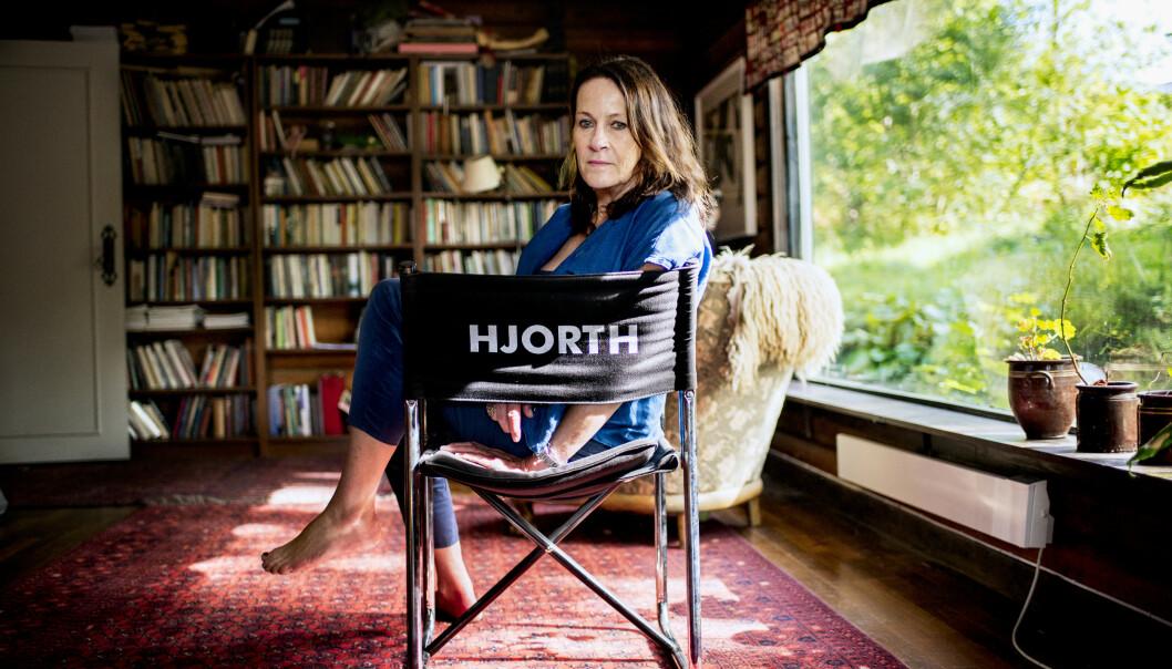 <strong>KUNSTNER:</strong> Vigdis Hjorth utforsker både kunsten og morsrollen i sin nye roman «Er mor død». FOTO: Klaudia Lech