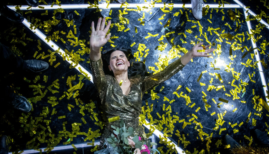 <strong>DELTAR IKKE:</strong> Ulrikke Brandstorp vant finalen i Trondheim Spektrum i vinter. Hun ønsker ikke å delta i neste års konkurranse. Foto: Bjørn Langsem / Dagbladet