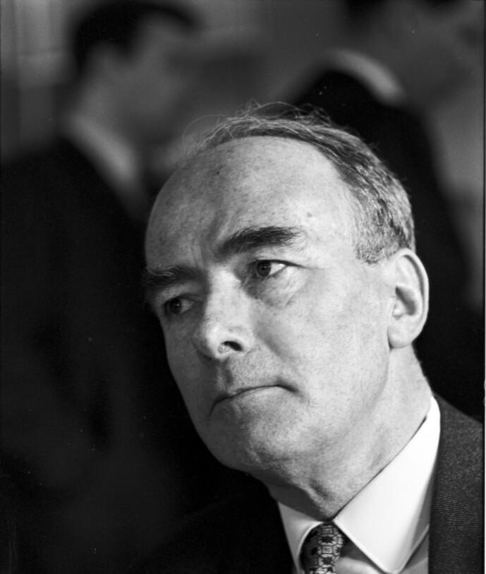 <strong>SATT I KONSENTRASJONSLEIR:</strong> Trygve Bratteli var blant de som ble sendt til Tyskland og satt konsentrasjonsleir under krigen. Noen tiår senere ble han statsminister i Norge. Foto: Aktuell NTB Scanpix