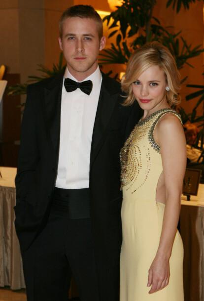 <strong>MØTTES PÅ JOBB:</strong> Ryan Gosling og Rachel McAdams var i tre år blant Hollywoods hotteste par. De to møttes da de spilte sammen i «The Notebook». Her i 2006. Foto: NTB scanpix