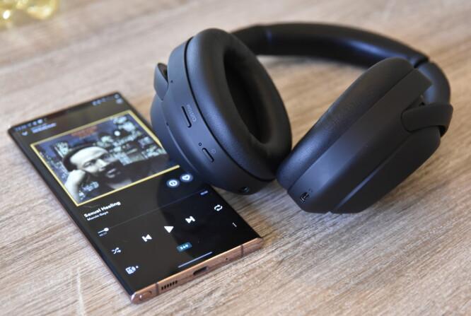 <strong>360-LYD:</strong> Via Sonys 360 reality audio posisjoneres de ulike lydkildene rundt i rommet. Foto: Pål Joakim Pollen