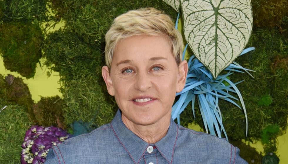 <strong>BLUSSET OPP:</strong> Ellen DeGeneres' Twitter-innlegg fra 2009 har skapt oppmerksomhet den siste tida. Foto: NTB Scanpix