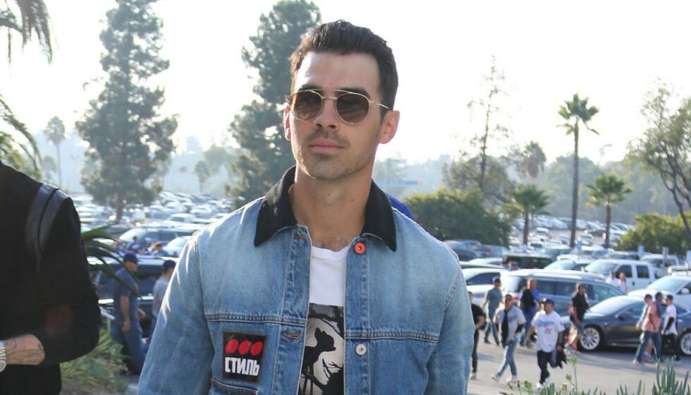 <strong>NY LOOK:</strong> Joe Jonas slik vi kjenner ham i fjor. Slik ser han ikke ut lenger. Foto: NTB scanpix