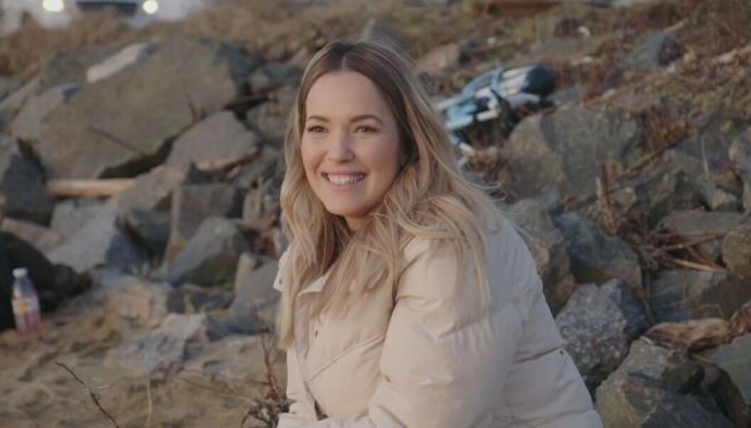 <strong>NY I GAMET:</strong> Monica Nyhus fra Kristiansand er en av de ny bloggerne i årets sesong. 32-åringen innrømmer at hun var litt nervøs før hun skulle se seg selv og familien på TV. Foto: TV 2