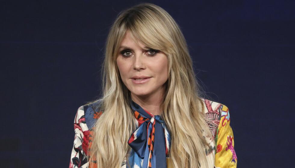 <strong>NØDHØRING:</strong> Modellen Heidi Klum har fått innvilget en nødhøring mot eksmannen, artisten Seal (57). Foto: NTB scanpix