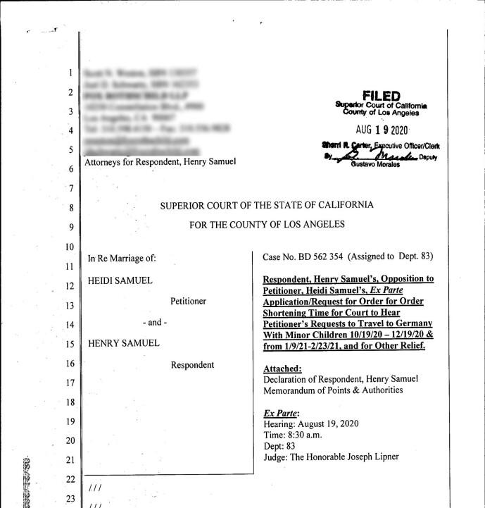 <strong>NØDHØRING:</strong> Rettsdokumenter viser at Heidi Klum ba om nødhøring for å ta med seg barna til Tyskland i perioder fra oktober til februar 2021. Foto: NTB scanpix