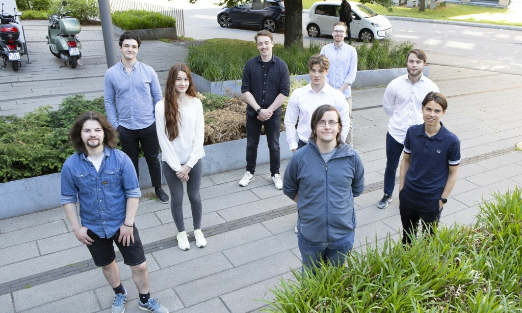 STUDENTHJELP: For å sjonglere Skatteetatens avanserte Big Data, har de blant andre hyret ni studenter med ingeniør- og IT-bakgrunn.