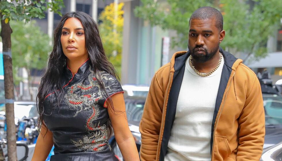 <strong>SAVNER BARNA:</strong> Kanye West skal ha besluttet å fly hjem til Los Angeles like før helgen, for å tilbringe kvalitetstid sammen med kona Kim Kardashian og deres fire barn. Foto: NTB Scanpix
