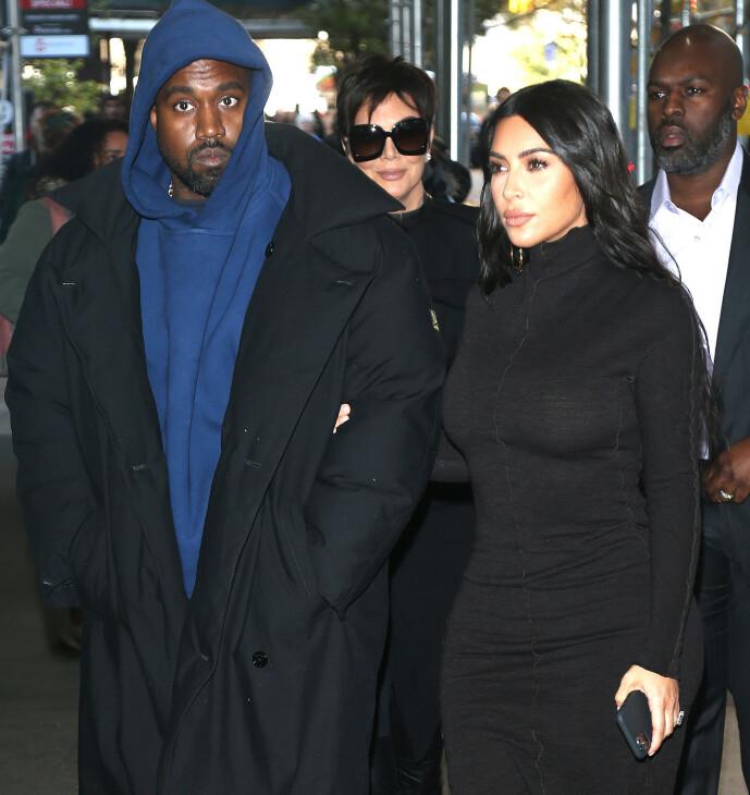 <strong>VIL FÅ DET TIL Å FUNGERE:</strong> Kim Kardashian skal være fast bestemt for å få ekteskapet til Kanye West til å fungere. Foto: NTB Scanpix
