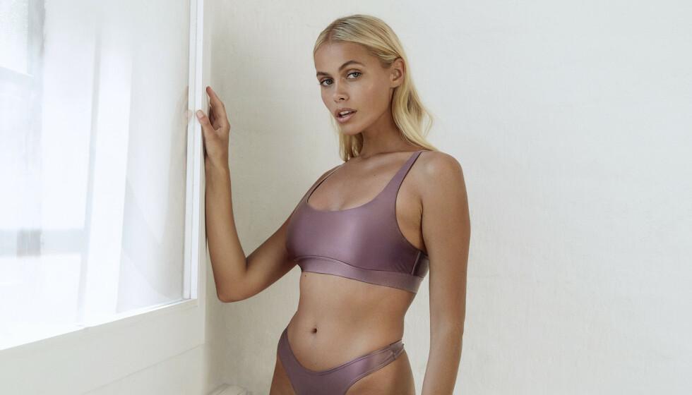 <strong>MODELL:</strong> Juliane Snekkestad har samarbeidet med flere store merker. Nå er hun en del av Bik Boks nye kampanje. Foto: Renate Torseth / Bik Bok