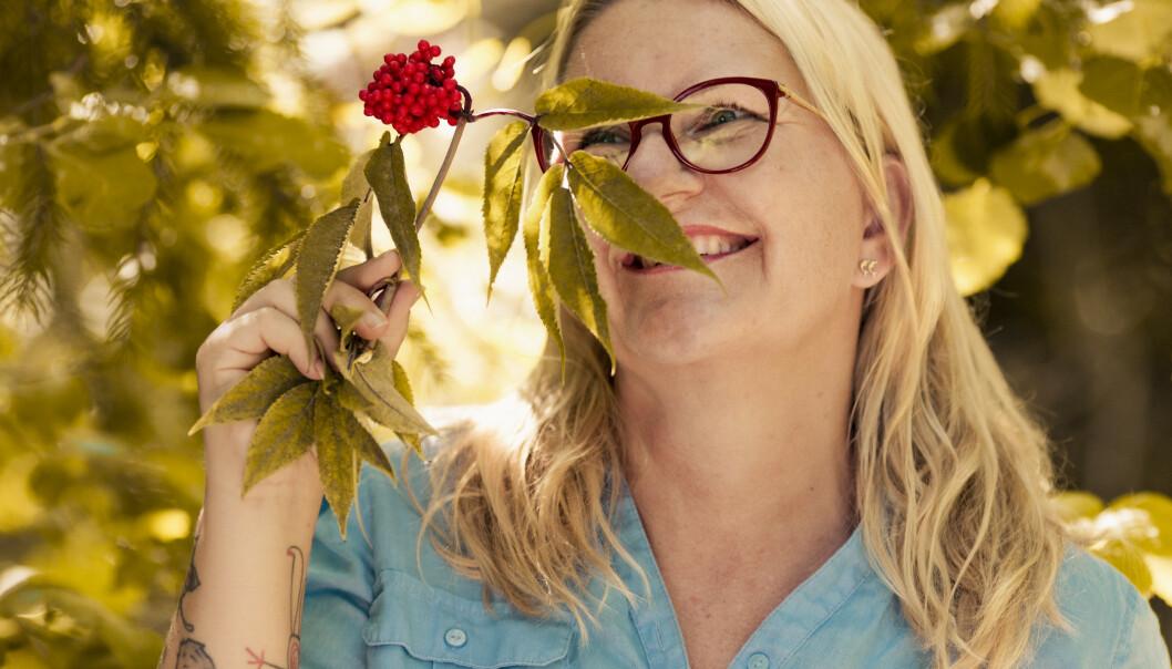 <strong>ÅPEN:</strong> Hilde er nordledning og snakker rett fra levra, det tror hun enkelte kan ha problemer med å takle. FOTO: Astrid Waller