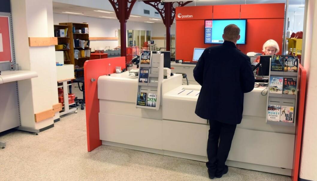 <strong>LEGGES NED:</strong> 25 postkontor skal legges ned i løpet av de neste to årene, blant annet denne postkontoret på Etterstad. Foto: Posten/ Birger Morken