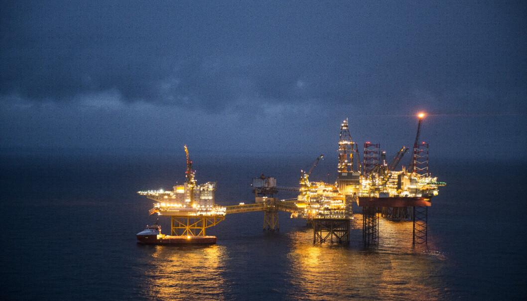 <strong>REAGERER:</strong> Ikke riktig å snakke om handelsbalanse uten å ha med inntektene fra olje og gass, mener næringsministeren. Foto: Carina Johansen / NTB scanpix