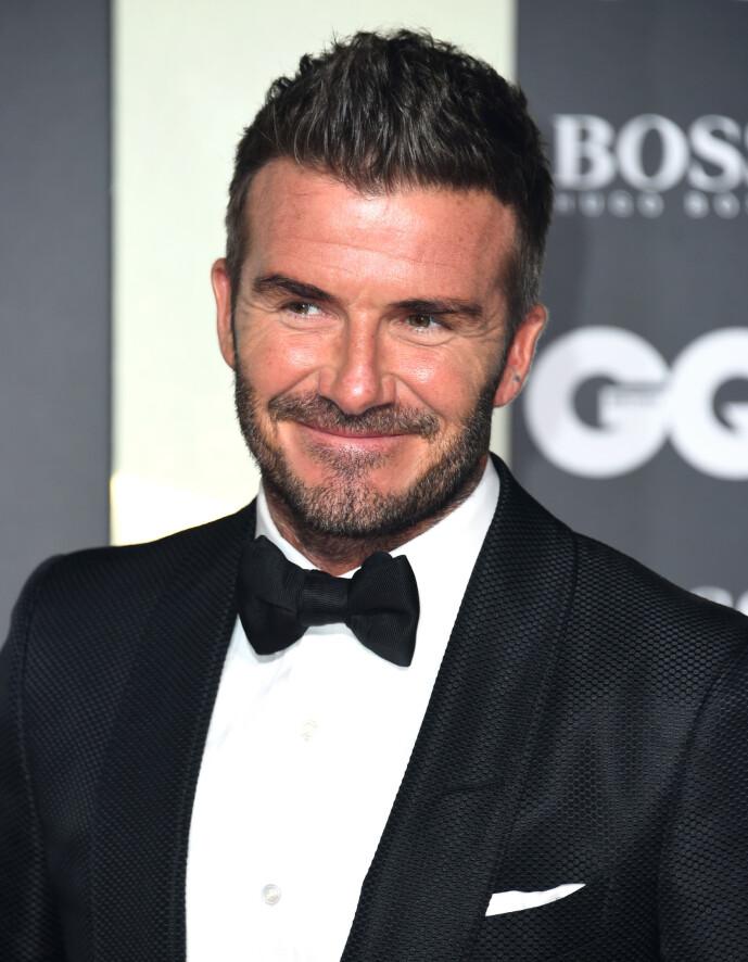 <strong>STJAL FRA KONA:</strong> David Beckham har tidligere innrømmet at han ikke er fremmed for å stjele konas skjønnhetsprodukter. Foto: NTB Scanpix