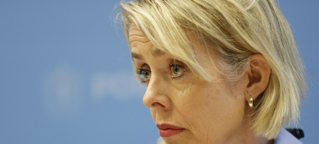 Politidirektøren bekymret for Sian-bråket