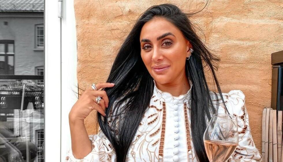 <strong>REAGERER:</strong> Wanda Mashadi sperret opp øynene over strekkmerke-kommentar. Foto: Privat, gjengitt med tillatelse