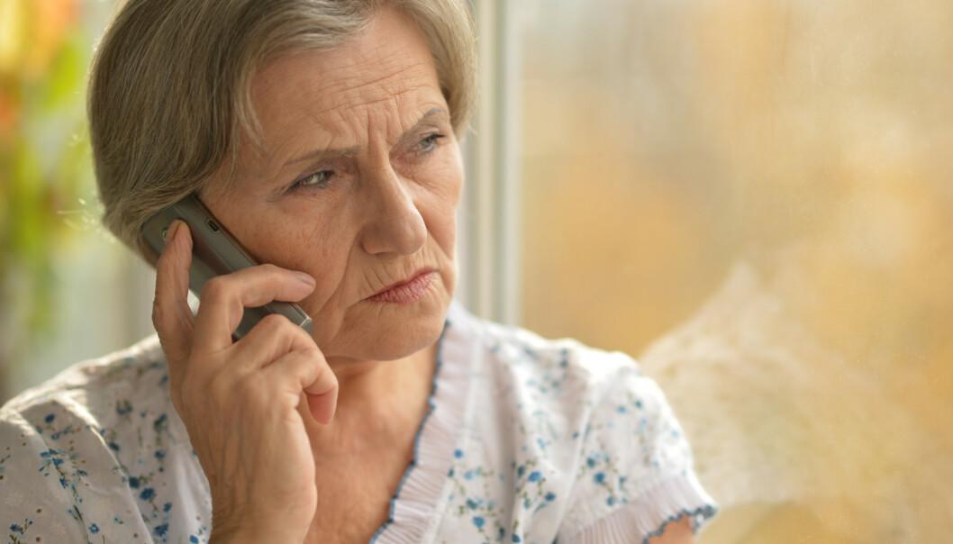 <strong>Ofrene for Olga-svindel blir kynisk valgt ut fra kjønn og alder:</strong> Alle er over 70 år og har navn som var populære da de var unge. Mange av dem heter Olga, derav navnet Olga-svindel. Illustrasjonsfoto: Shutterstock/NTB Scanpix