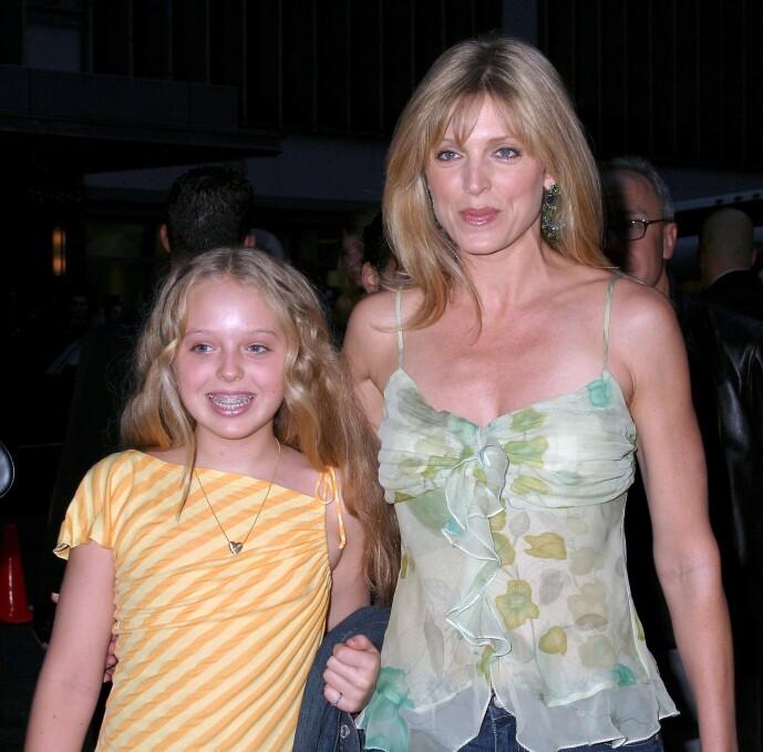 <strong>MOR OG DATTER:</strong> Tiffany Trump skal ha hatt en ganske skjermet oppvekst, men her er hun og mamma Marla Maples sammen på en premiere i New York i 2004. Foto: NTB scanpix