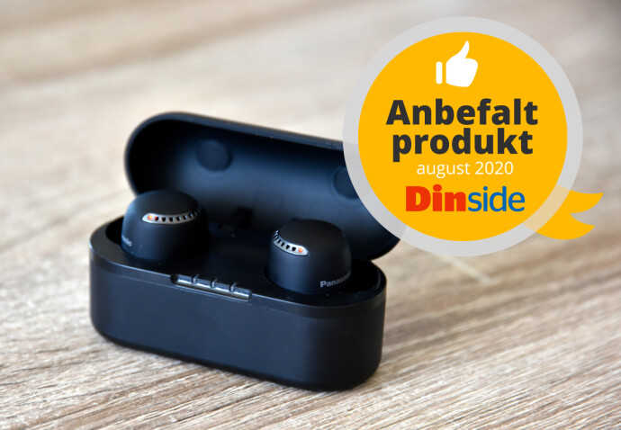 Panasonic RZ-S500W får terningkast 5 og anbefalt produkt-stempel fra Dinside. Foto: Pål Joakim Pollen
