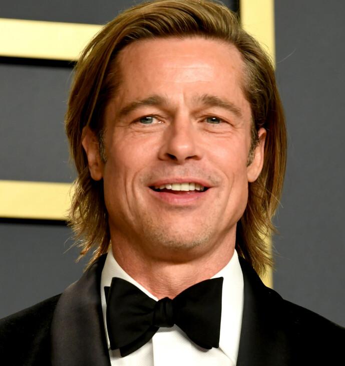 <strong>ETTERTRAKTET:</strong> Brad Pitt er blant Hollywood-stjernene som absolutt regnes som et «sexsymbol» blant mange. Foto: NTB scanpix