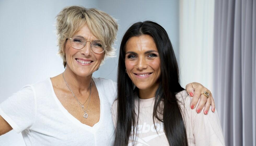 <strong>SELGER:</strong> Tv-profil Trude Vasstrand har besluttet å selge familiehjemmet i Ålesund. Her er hun avbildet sammen med datteren og influenser Jørgine Massa Vasstrand. Foto: Espen Solli / TV 2
