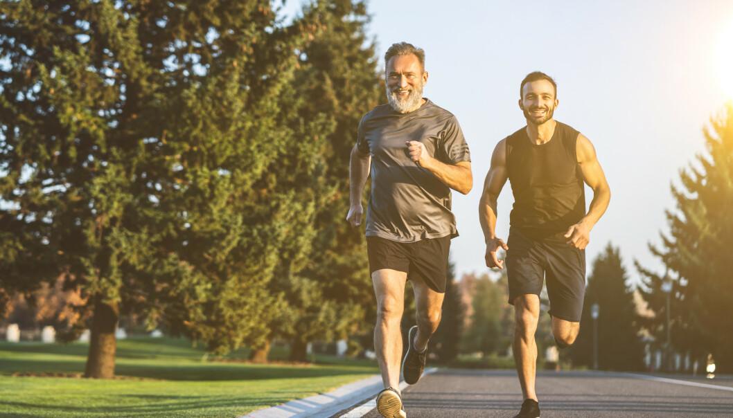<strong>VIKTIG MED HØY PULS:</strong> Det er én ting du kan gjøre for å bremse aldersforandringer i kroppen: Få opp pulsen. Foto: Shutterstock NTB Scanpix