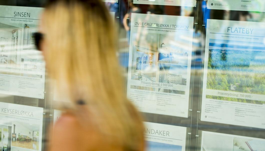 <strong>KNALLHARDT:</strong> Stivbeint regelverk har skylda for at prisene stiger mer på de minste leilighetene enn markedet generelt, hevder boligtopp. Foto: Vegard Grøtt, NTB scanpix
