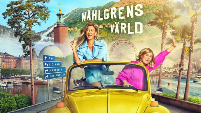 <strong>SUKSESS:</strong> Den åttende sesongen av «Wahlgrens Värld» ruller i disse dager over skjermene. Serien har gjort Bianca og Pernilla til to av Sveriges største stjerner. Foto: Fabian Wester/Dplay