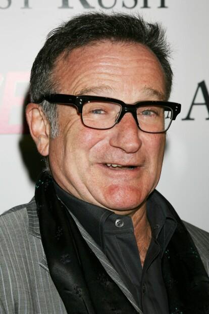 <strong>KOMIKER:</strong> Robin Williams omtales fremdeles som en av de fremste komikerne i verden. Han tok sitt eget liv i 2014. Foto: NTB Scanpix