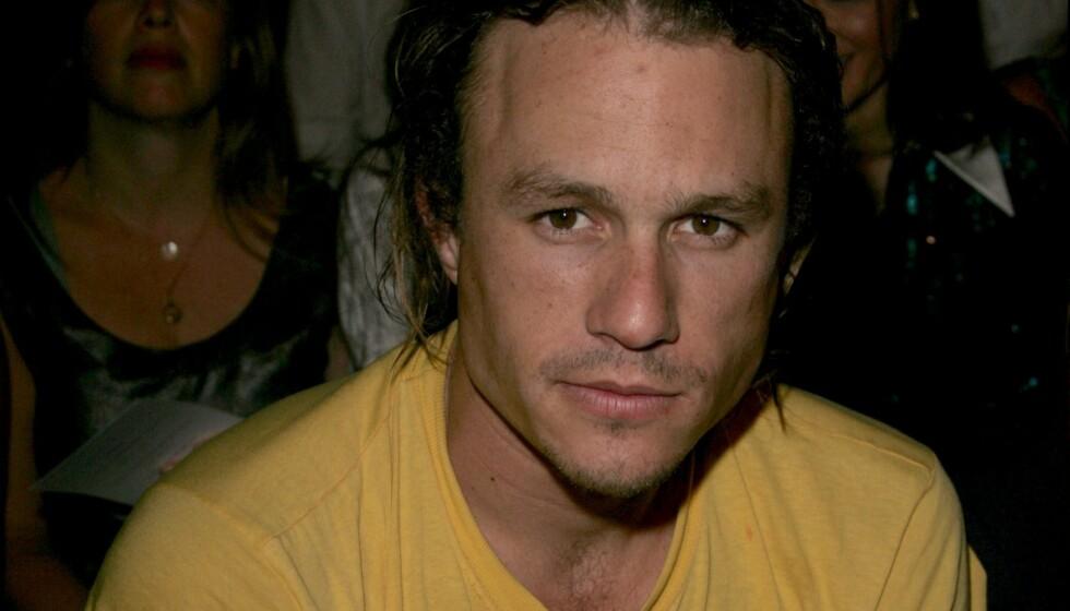 <strong>DØDSFALL:</strong> Heath Ledger er bare en av kjendisene som har mistet livet i ung alder. Her kan du lese om de mest sjokkerende dødsfallene i kjendisverdenen. Foto: NTB Scanpix