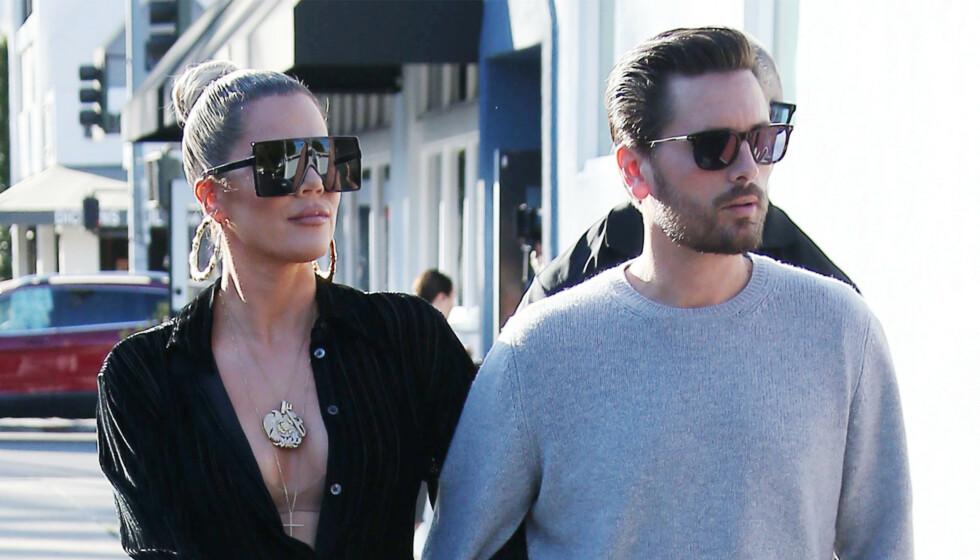<strong>SAMMEN IGJEN?:</strong> Khloé Kardashian og Scott Disick har vært nære venner i mange år. Nå spekuleres det heftig på om sistnevnte har bekreftet at Khloe har funnet tilbake til eksen, Tristan Thompson. Foto: NTB scanpix