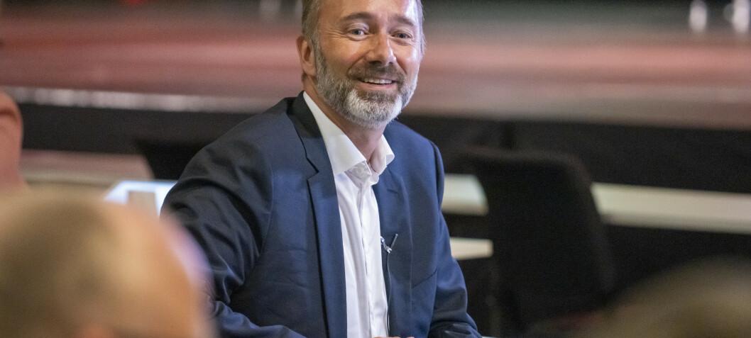 AUF-lederen: Forstår reaksjoenene