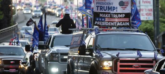 Trump-tilhenger drept i Portland
