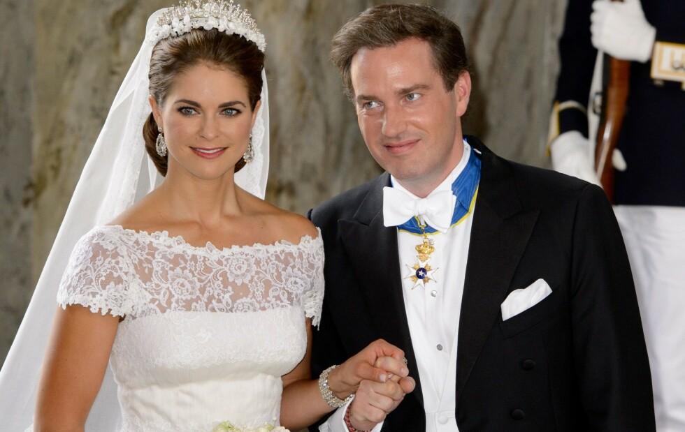 <strong>GJELD:</strong> Chris O'Neill startet nytt selskap etter å ha giftet seg med prinsesse Madeleine i 2013. Mens gjelden har sunket er det så langt ingen inntektskilde for familien. Foto: REX/ NTB scanpix