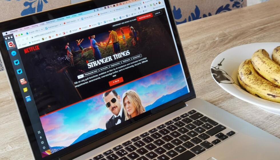 <strong>SE UTEN Å BETALE:</strong> Nå kan du se noe av Netflix' mest populære innhold gratis. Foto: Pål Joakim Pollen