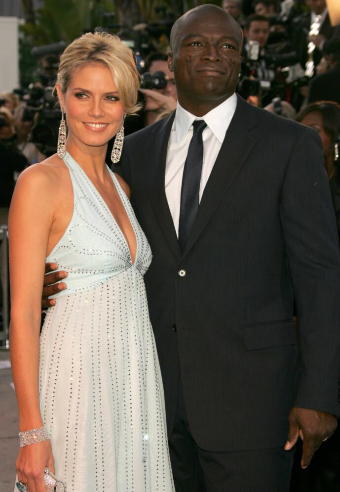 <strong>DEN GANG DA:</strong> Heidi Klum og Seal sammen på Vanity Fairs Oscar-fest i 2006. Foto: Matt Baron/ BEI/ REX/ NTB scanpix