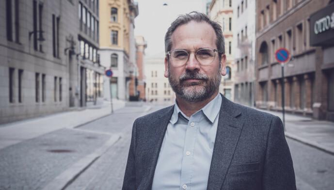 <strong>- UNORMALT:</strong> Per Fjærestad, Country Manager i Creditsafe Norway, frykter at vi skyver problemene foran oss. Foto: Creditsafe