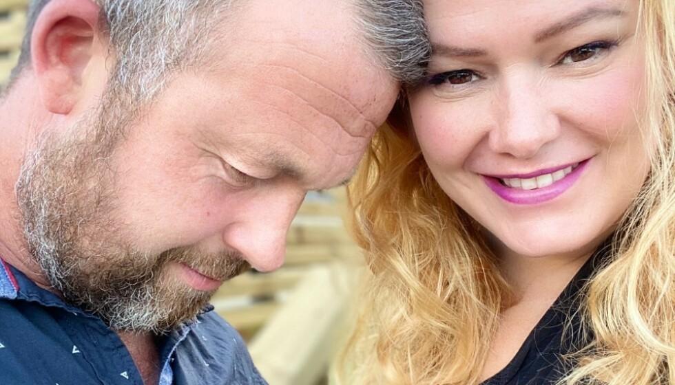 <strong>PAR I HJERTER:</strong> Trine Lise Olsen begynte å date en ny mann i mai. Nå bekrefter hun overfor Se og Hør at hun og «B.T» har blitt kjærester. Foto: Privat