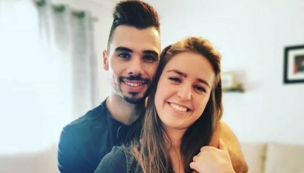 <strong>FORLOVET:</strong> Motorsykkelstjernen Miguel Oliveira er forlovet med sin egen stesøster. Foto: Skjermdump/Instagram