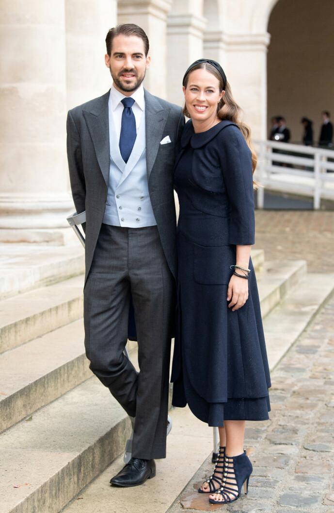 <strong>SKAL GIFTE SEG:</strong> Prins Philippos og Nina Nastassja Flohr forlovet seg på den greske øya Itacha tidligere i sommer. Foto: NTB Scanpix