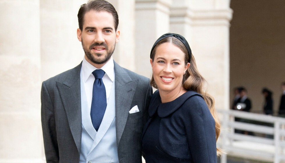 <strong>FORLOVET:</strong> Greske prins Philippos har forlovet seg med Nina Nastassja Flohr. Foto: NTB Scanpix
