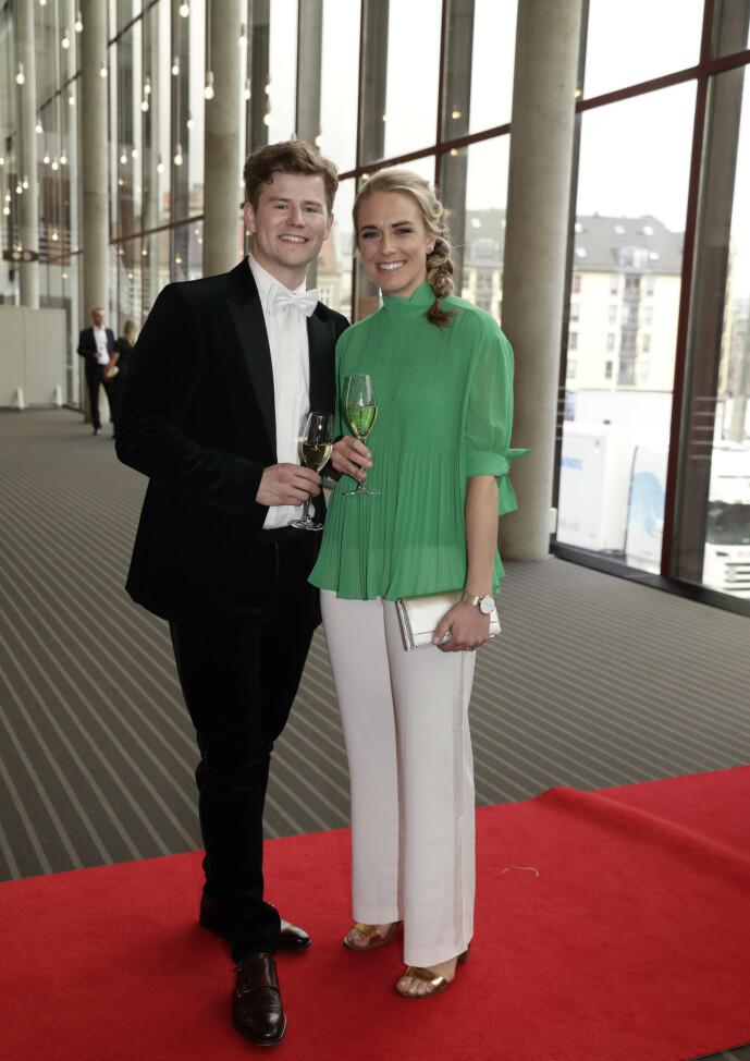 <strong>VORDENDE FORELDRE:</strong> Nicolay Ramm og forloveden Josephine Leine Granlie skal bli foreldre i januar neste år. Foto: NTB Scanpix