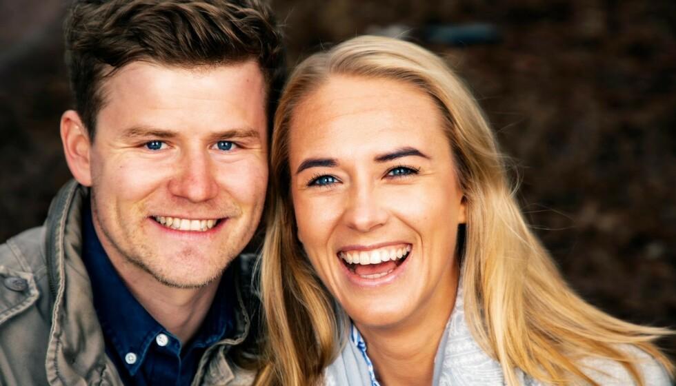 <strong>VENTER BARN:</strong> NRK-profil Nicolay Ramm og Josephine Leine Granlie skal bli foreldre for første gang. Foto: Tor Lindseth