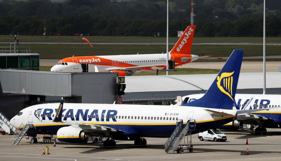 <strong>49 KRONER BILLETTEN:</strong> Ryanair vil fly deg utenlands for 49 kroner billetten. Men dersom Italia blir rødt i dag, er alle destinasjonene på reisekartet deres fra Norge, røde. Foto: NTB scanpix