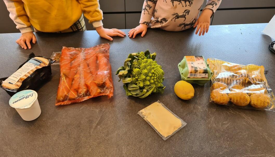 <strong>GODE SMAKER:</strong> Små og store hverdagskokker satte pris på enkle oppskrifter og sunne, varierte middager.