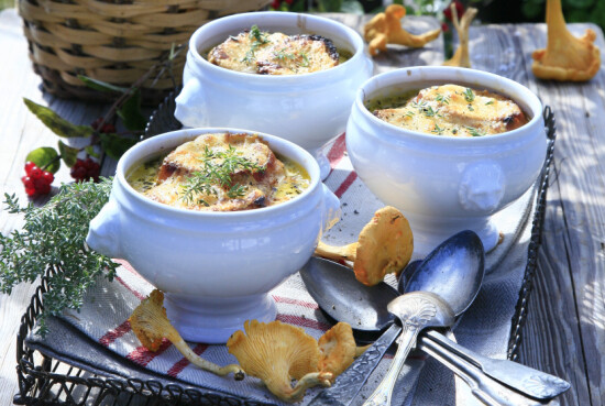 Gratinert soppsuppe